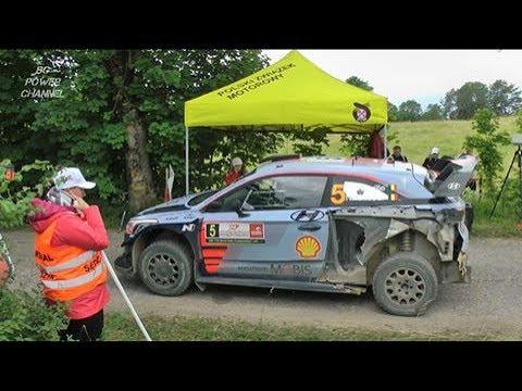 WRC Rally Poland 2017 Race Start Citro n Hyundai Ford Toyota Mini Cooper