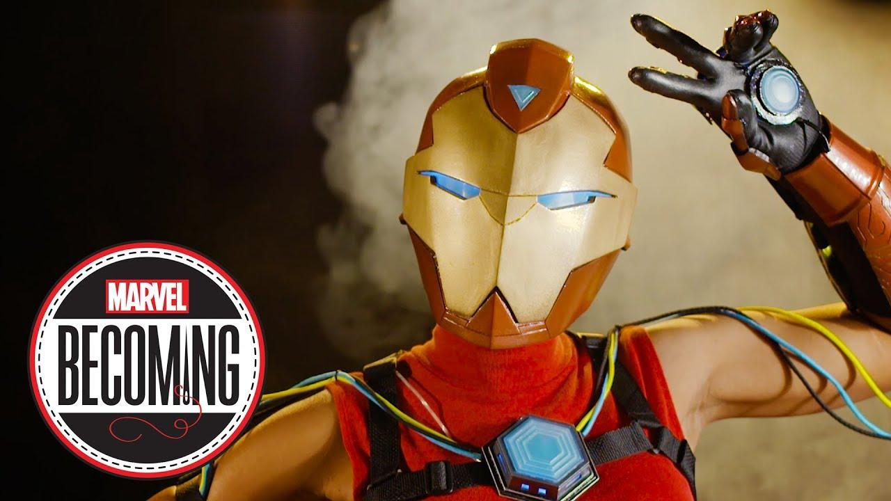 Making my interpretation of Marvel's Ironheart armor for