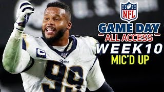 "NFL Week 10 Mic'd Up, ""This is not good for my blood pressure!"" 