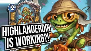This Deck Is Good?! MAD SCIENCE Paying Off! | Saviors of Uldum | Hearthstone