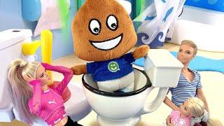 Безумный Прыгун-Игрушка Амельки! Барби забрала Игрушку к себе! Почему никто не хочет с ней дружить?