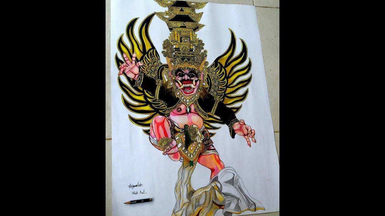 Sketsa Gambar Ogoh Ogoh