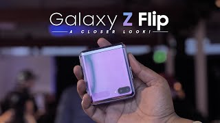 Galaxy Z Flip Hands On: A Closer Look!