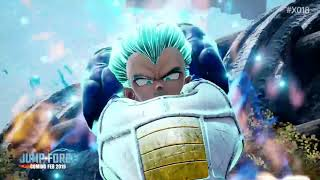 JUMP FORCE Super Saiyan Blue Goku, Vegeta & Golden Freezer Gameplay Trailer