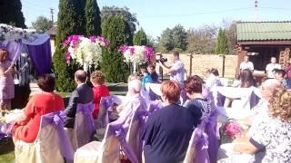 Выездная церемония в Херсоне.