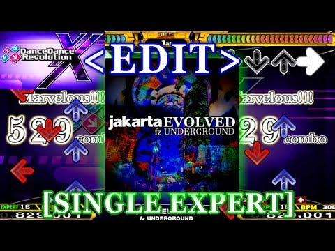 【DDR XX/EDIT】  JakartaEVOLVED [SINGLE EXPERT]