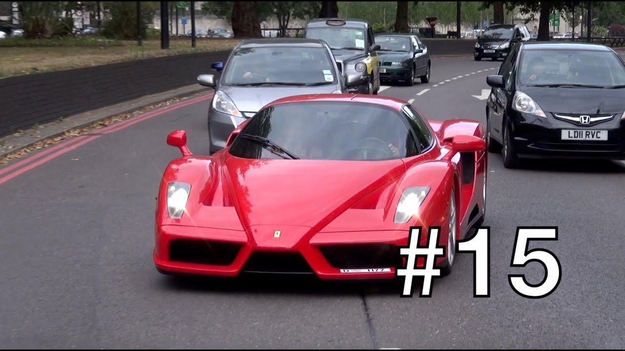 London Supercar Insanity #15 - Enzo, Huayra, Aventador SV + more