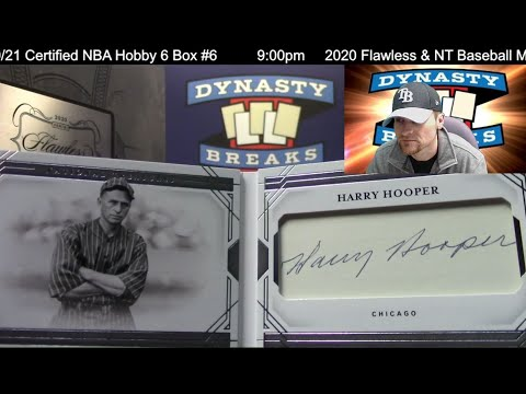 2020 Flawless National Treasures Baseball Card 5 Box Case Break #18   Sports Cards