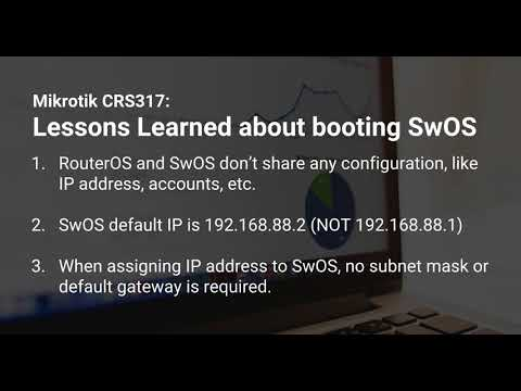 How to boot into SwOS on Mikrotik CRS317