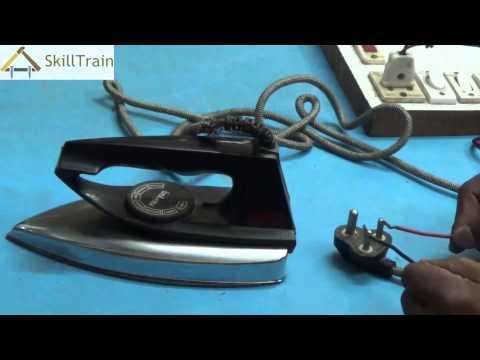 Testing the Faults on an Automatic Electric Iron (Hindi) (हिन्दी)
