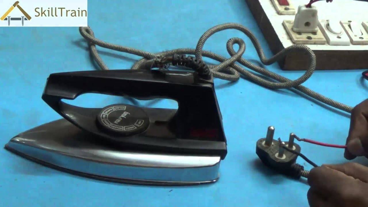 Testing The Faults On An Automatic Electric Iron Hindi Short Circuit Machine Quality Youtube