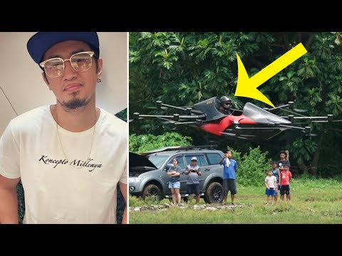 This Guy Was Sick Of Getting Stuck In Traffic, So He Created An Insane Car To Take To The Skies