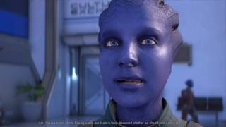 Mass Effect Andromeda Keri romance with male Ryder part 1