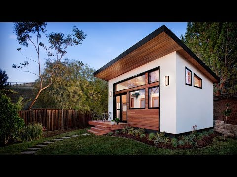 The Prefab Tiny House By Avava - Youtube