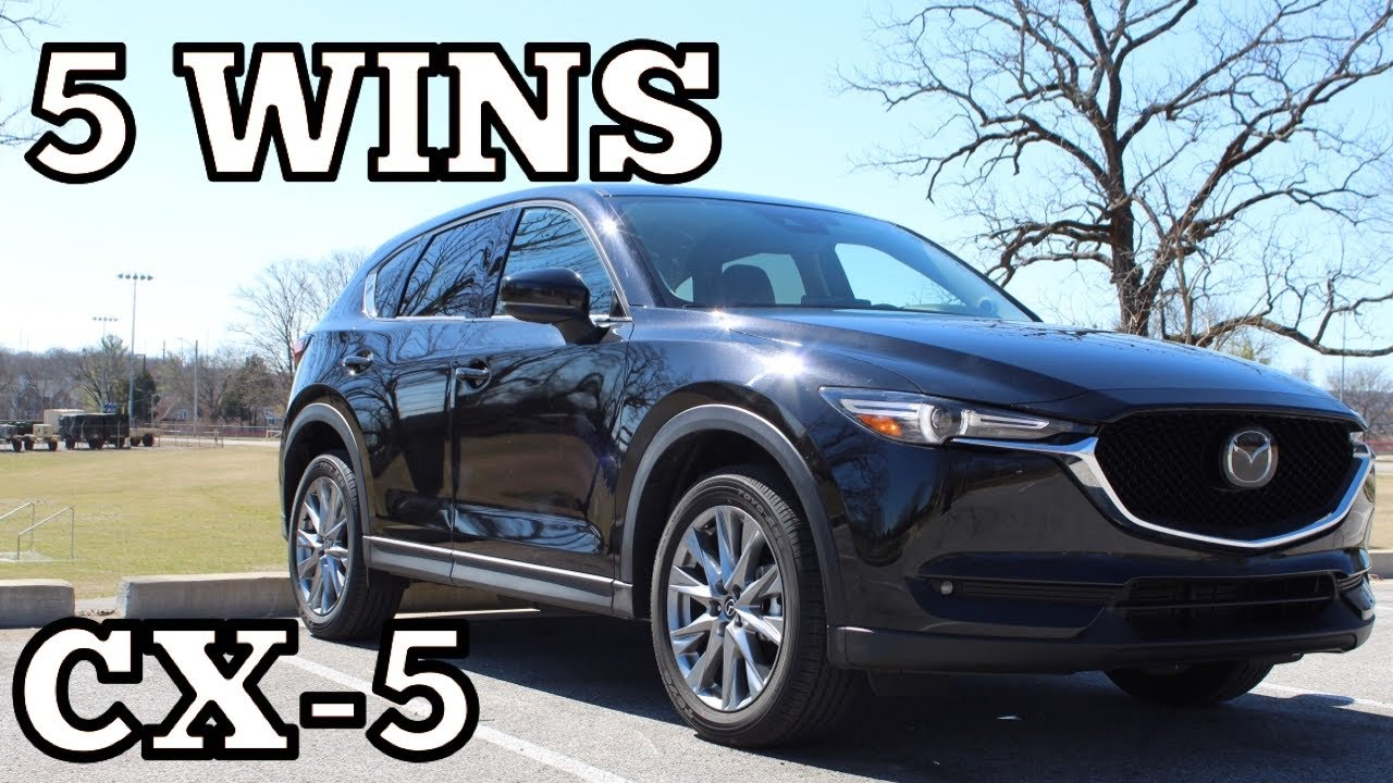 5 Things I LOVE about the 2021 Mazda CX-5 Grand Touring!
