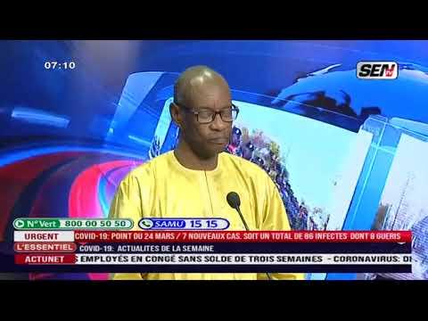 Cheikh Gueye, Maire De Dieuppeul-Derkle dit tout sur Sentv