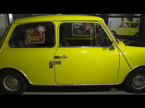Pop culture car reviews  Mr Beans mini  YouTube
