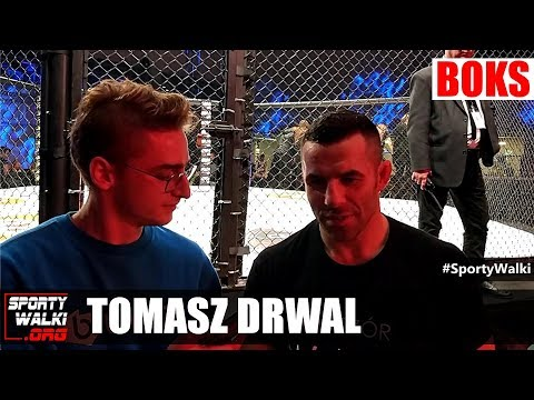 Tomasz Drwal po debiucie w boksie na Wieczór Walk R8. Wideo