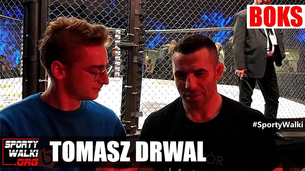 Tomasz Drwal po debiucie w boksie na Wieczór Walk R8