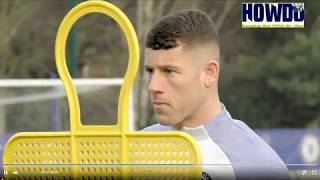 ROSS BARKLEY First Chelsea Training