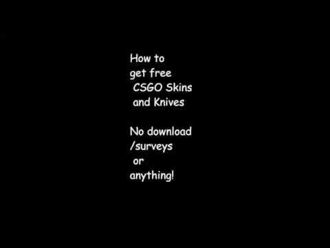 how to get knife skins in csgo
