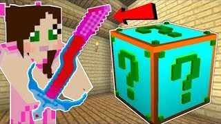 PopularMMOs Pat and Jen Minecraft: PLURAL LUCKY BLOCK!!! (EVERYTHING IS OVERPOWERED!)