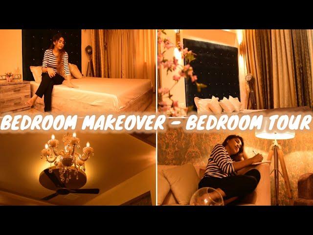My Bedroom Makeover - Bedroom Tour - Furniture & Lightings Ideas    Rabia Skincare