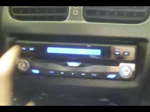 "LM 6501 - 1DIN 7"" TFT LCD Touchscreen motorised DVD, DivX, MP3, TV car player"