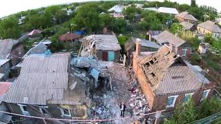 Destruction in Gorlovka (Drone Journalism #1)