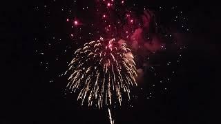 2018 4th of July Fireworks Kenosha Wisconsin Full Close Up