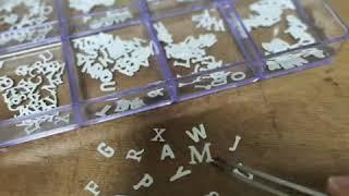 이니셜 목걸이 만들기[은공예]공방미즈아트