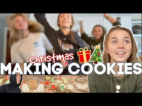 KATIE And Her FRIENDS Make Christmas Cookies | Kitchen Takeover | An Early Christmas Present Arrives