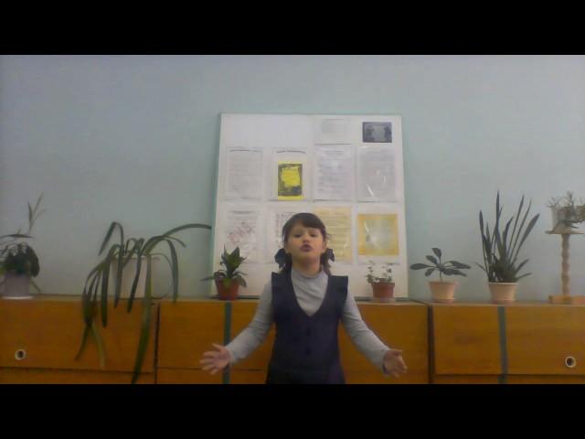 Изображение предпросмотра прочтения – ВладаЗабалуева читает произведение «Лебедь, Рак и Щука» И.А.Крылова