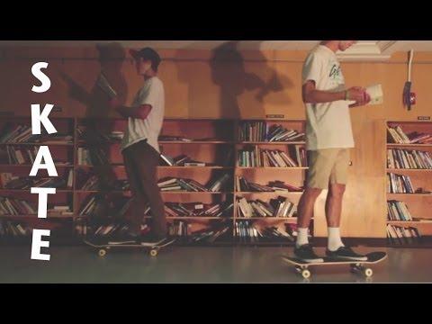 Skateboarding In An Abandoned SLC High School