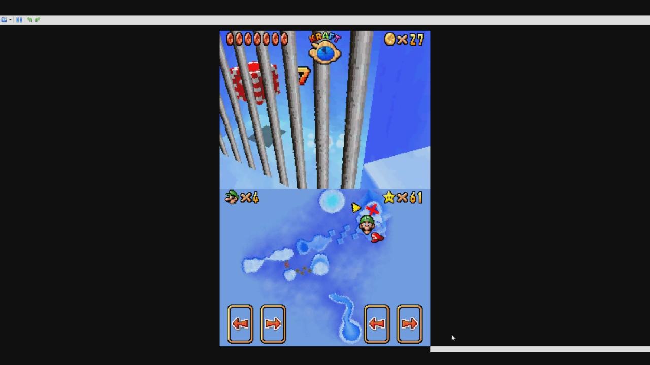 Super Mario 64 Ds Geheimsterne Der König Lässt Bitten 8 Rote
