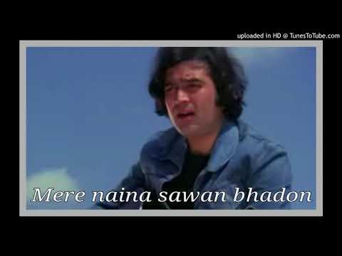 Mere naina sawan bhandon fir bhi mera man pyasa