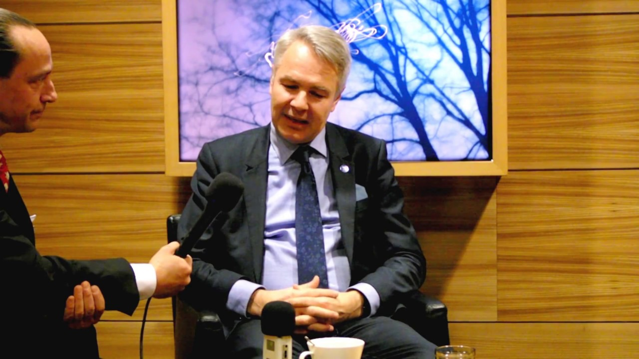 Mp Pekka Haavisto Tells A Story And Of His Reasons To Run