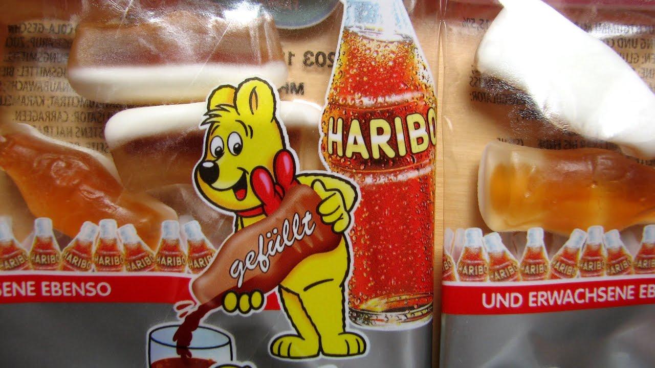 haribo happy cola youtube