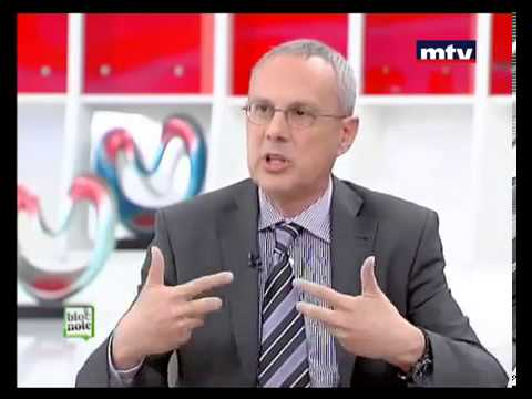 MTV Lebanon interviews BLOM Bank's General Manager for Retail Banking