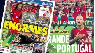 Portugal - Pologne : Ronaldo éclipsé par Quaresma et Renato Sanches !