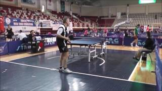 FURKAN ALTUNOK (Table Tennis - Best Angle To Watch- Fantastic points)