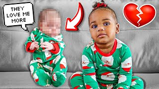 NOVA MEETS HER BABY SISTER FOR THE FIRST TIME **EMOTIONAL REACTION**