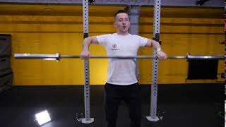 Barbell Wide Grip Upright Row