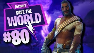 "Unlocking ""MYTHIC STEEL WOOL CARLOS "" Fortnite Save The World Gameplay"
