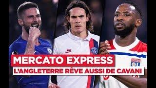 VIDEO: TRANSFERTS - Cavani, Giroud, Marquinhos, Icardi... Les infos Mercato du 10 janvier