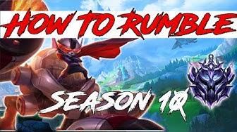 5 Tips Every Rumble NEEDS To Know! League of Legends Rumble Mid Guide Season 10 2020