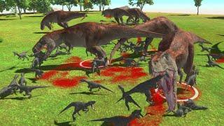 Massive Dinosaur Fight Club! - Animal Revolt