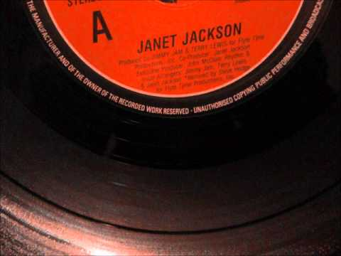 """Janet Jackson  -  Control. 1986 (12"""" Extended version)"""