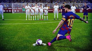 PES 2020 - Free Kick Compilation #1 HD
