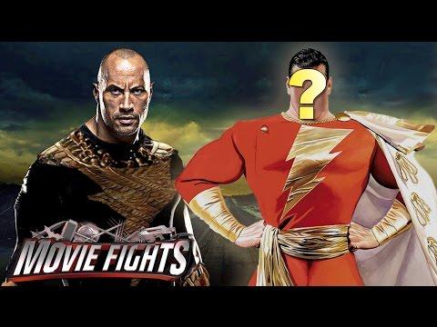 Casting Shazam! opposite The Rock plus HUGE SJ NEWS!! - MOVIE FIGHTS